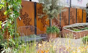 decorative garden screens and outdoor