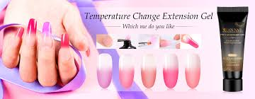Nail Type Chart Details About Rban Nail 20ml Temperature Change Poly Extension Gel Quick Building Nail Builder