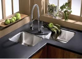 40 Cool Corner Kitchen Sink Designs [Best Ideas With Photos Gallery Inspiration Kitchen Designs With Corner Sinks