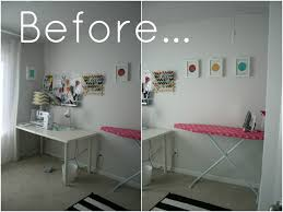 diy office space. Trend Photo Of Office Sewing Room Before.jpg Small Space In Bedroom Decoration Design Ideas Diy S