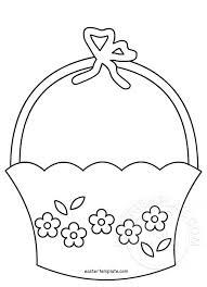 Easter Template Easter Basket Template Easter Template
