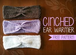 Free Crochet Ear Warmer Pattern