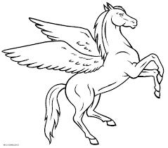 Pegasus Coloring Pages Dxjz Printable Pegasus Coloring Pages For