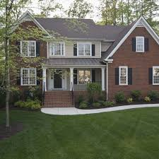 Small Picture Best 25 Red brick homes ideas on Pinterest Brick homes Red