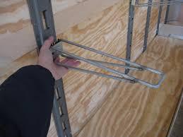 wired shelf bracket
