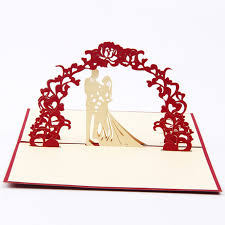 details about 3d handmade up wedding birthday invitations greeting cards new