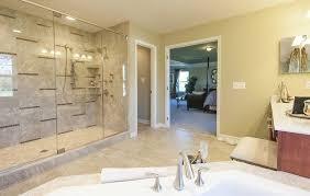 Model Home Master Bathroom in MD traditional-bathroom