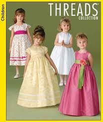 Simplicity Girls Dress Patterns