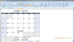 Microsoft Free Calendar Template Excel Calendar Template 2018 Download For Pc Free