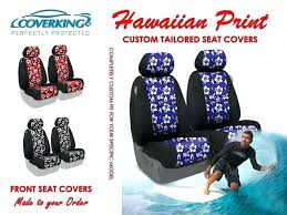 hawaiian print car seat covers print tailored front seat covers for highlander custom car seat covers