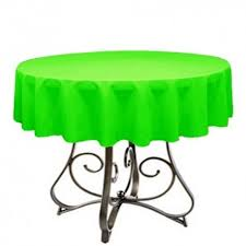 round tablecloth 36 polyester more 40 colors available