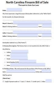 nc bill of sale form bill of sale form nc income tax boat trailer pdf north