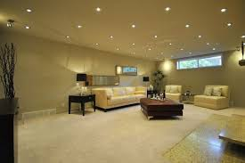 eliminate any dull corners with evenly placed recessed lights