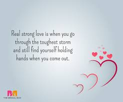 Strong Bond Love Quotes