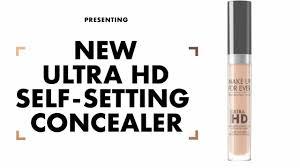 ultra hd self setting concealer make