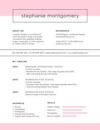 Image result for graphic design student resume minimalist