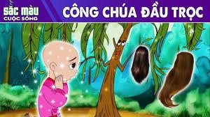 CÔNG CHÚA ĐẦU TRỌC | Truyện cổ tích việt nam | Phim hoạt hình hay - Dạy tô  vẽ tranh ảnh xinh nhất - Kho gấu bông giá rẻ nhất Việt Nam
