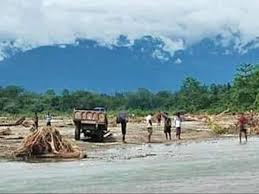 100 Dwellings Gone Erosion Hit Pohukhowa Village Fights For