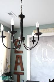 inexpensive kitchen lighting. Fine Inexpensive Bel Air 5Light Chandelier  My New Farmhouse Chandelier For My Kitchen  TheTurquoiseHome To Inexpensive Kitchen Lighting G