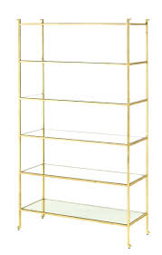 white and gold shelves gold shelves glass bookshelf gold shelves custom glass shelves white wood and