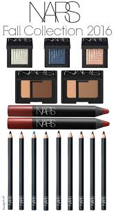 nars fall color collection 2016