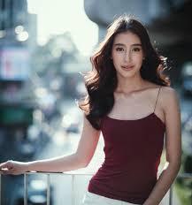ไอเดย ผมแสกกลาง สดคลาสสค สวยชคตามสไตลสาวไทย Shopspotter