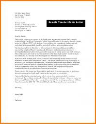 8 Teachers Application Letter Sample G Unitrecors
