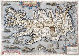 sea monster world map. Beautiful Monster The World Is Considered First Modern Printed Atlas Tingling With  Imagination And Old Norse Mythology His Maps Featured Sea Creatures Monsters For Sea Monster Map H