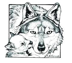 Wolf Color Pages Coloring Pages For Adults Anime Coloring Pages For
