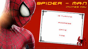 oh spiderman full size of spiderman free printable invitations cards or photo frames