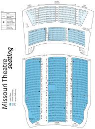 St Joseph S Amphitheater Seating Chart Missouri Theatre Concert Series University Of Missouri
