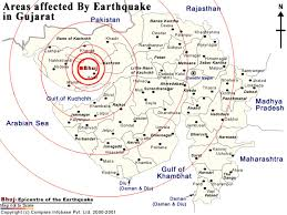 It was an intraplate earthquake, meaning it occurred within a plate boundary. Gujarat India 2001 Ceri The University Of Memphis