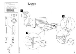 1 ikea logga bed instructions 1 1200—850