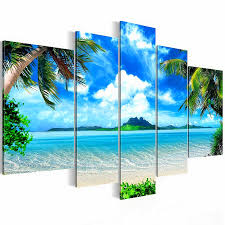 not framed canvas print modern canvas painting seascape beach home decoration wall art picture poster hawaii in painting calligraphy from home garden on  on beach themed canvas wall art australia with not framed canvas print modern canvas painting seascape beach home