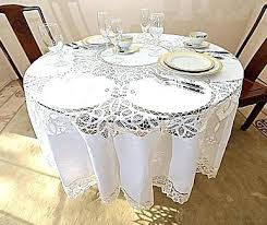 90 inch round white tablecloth round tablecloths inch round tablecloths lace tablecloths round tablecloths round inches