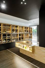 wine store design in portugal stylishly exhibiting over a thousand