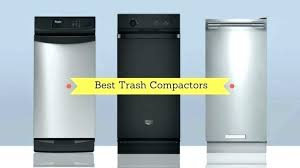 Kitchenaid Trash Compactor Bags 15 Inch Kitchen Trash Compactors Where To  Buy Trash Compactor Bags