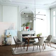 dining table in living room mid century expandable dining table small living room with round dining table