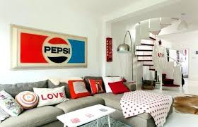 retro style furniture. 60s Style Furniture Installation In Retro And The Colors Of  Lounge Chairs Retro Style Furniture
