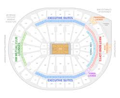 Milwaukee Bucks Detailed Seating Chart Milwaukee Bucks Suite Rentals Fiserv Forum