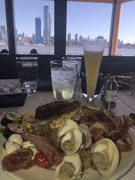 The Chart House Weehawken Nj Brunch Menu Idk Which View Is Better The Plate Or The Waterfront Yelp