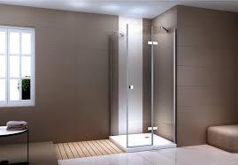 fixed panel shower enclosure ex403c swing door genuine nano glass 100 x 100 x 195