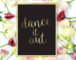 funny motivational posters for office. dance it out print wall decor office poster art motivational funny posters for
