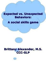 Expected Vs. Unexpected Behaviors Jeopardy Template | Social Skills ...