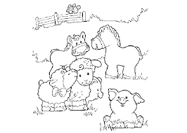 Small Picture Baby Farm Animal Coloring Pages Coloring Coloring Pages