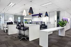 open office concept. with open office concept