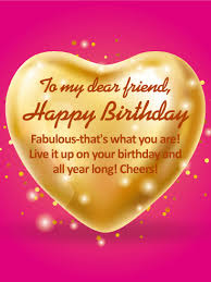 pics of happy birthday my dear friend