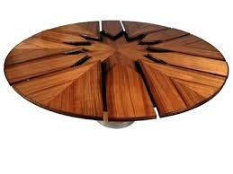 expanding round table. Expanding Circular Dining Table Expandable Round Small Images Of R