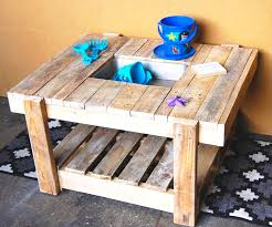 wooden pallet kids mud kitchen for kids pallet furniture how to make