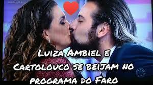 Cartolouco se declara para Luiza Ambiel no Faro - YouTube